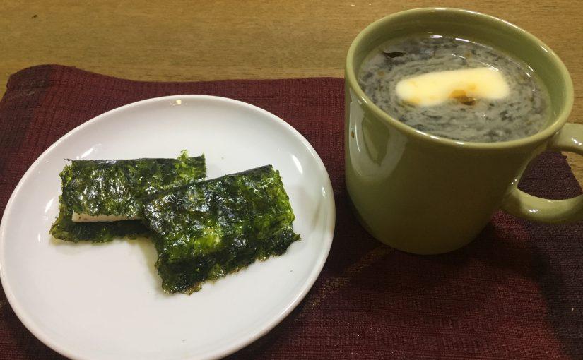 のりバター&バターコーヒー〜糖質制限おやつ〜