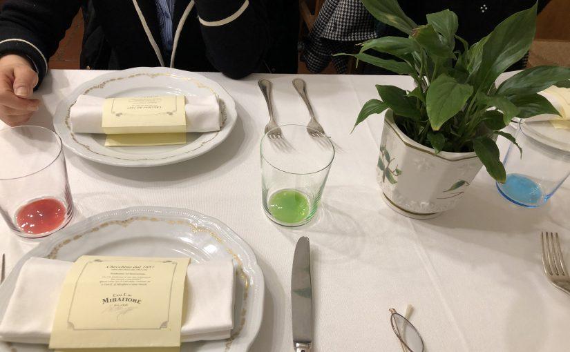 イタリア🇮🇹ローマ旅行記8〜ローマの老舗料理店ケッキーノダル1887〜